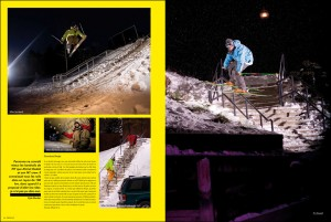 Pages 7-8: Left: Mike Hornbeck, Right - Tim Russell