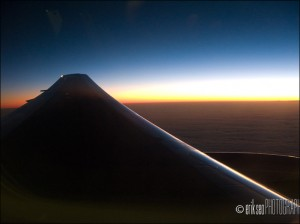 Sunrise somewhere over the Pacific Ocean