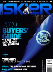 SBC Skier Magazine 8.1 - 2009 Buyer's Guide - Skier: Mike Mertion