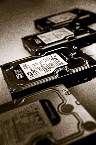 New hard drives