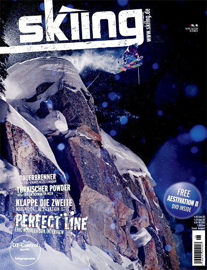 Skiing - Next Level Magazine Cover - December 2009 - Skier: Julan Carr - Location: Brighton Resort, Utah
