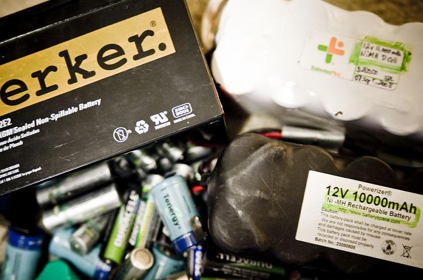 Big pile-o-batteries