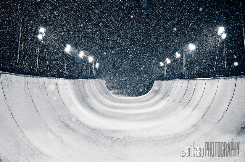 Park City Mountain Resort Superpipe - US Snowboarding 2010 Snowboard Grand Prix