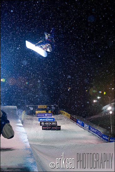 Kelly Clark, first hit